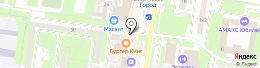Оптово-розничный магазин нижнего белья и колготок на карте Тольятти