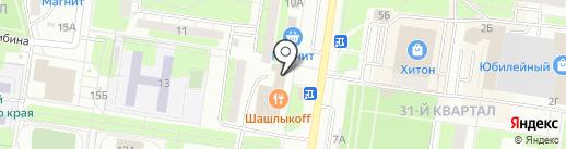 ВИТА на карте Тольятти