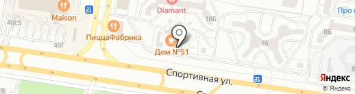 Железная дорога на карте Тольятти