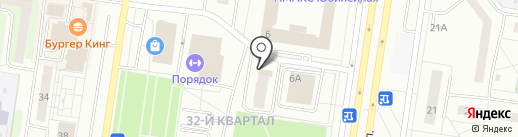 Web fit на карте Тольятти
