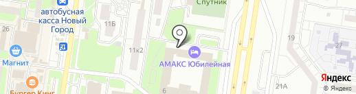 Тольяттинский Автомобильный Прокат на карте Тольятти