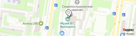 Гранит, МБОУ на карте Тольятти