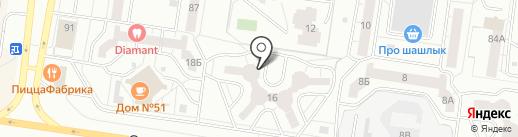 Эко Алекс на карте Тольятти