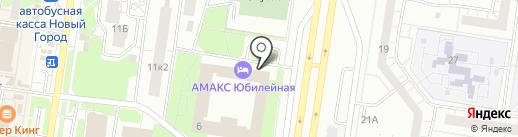 Губерния на карте Тольятти