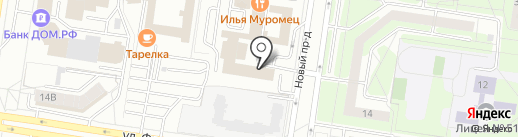 МЕТРО на карте Тольятти