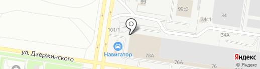 Фирма по изготовлению государственных регистрационных знаков на карте Тольятти