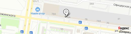 Неон-Стандарт на карте Тольятти
