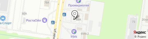 Снабжение и строительство на карте Тольятти