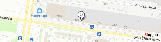 AVTO-BUS на карте Тольятти