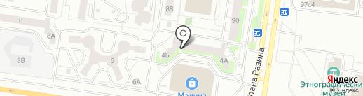 Цветной-Дым.рф на карте Тольятти