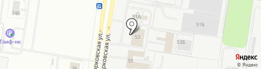 МСТ на карте Тольятти