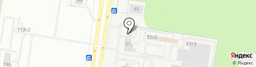 Клевер на карте Тольятти