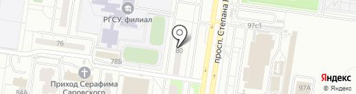 Массажный кабинет на карте Тольятти