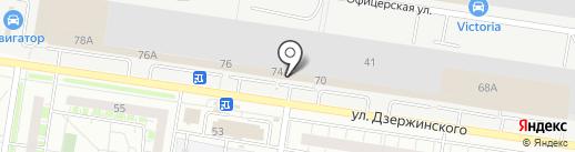 Дионис на карте Тольятти