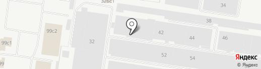 Блеск-Сервис на карте Тольятти