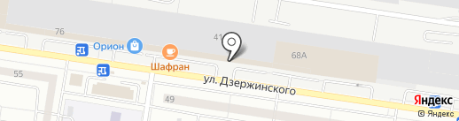 Автодок на карте Тольятти