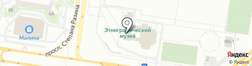 Буратино на карте Тольятти