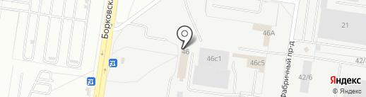 ХимТэк на карте Тольятти
