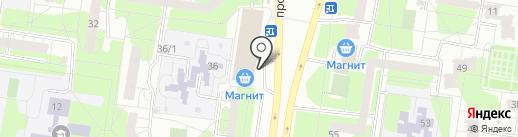 Международный Автоклуб на карте Тольятти