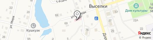 Амбулатория на карте Выселков