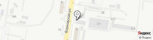 Четыре мастера на карте Тольятти