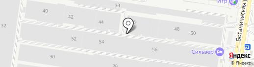 Ставрополь на карте Тольятти