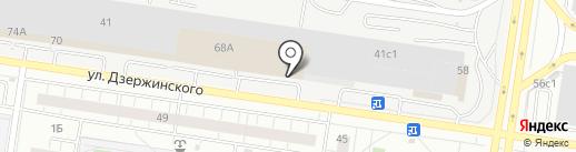 МИГ на карте Тольятти
