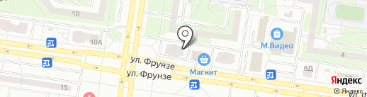 KYK на карте Тольятти