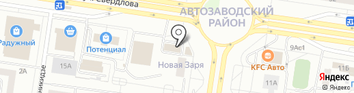 Пари-Матч на карте Тольятти