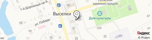 Лилия на карте Выселков