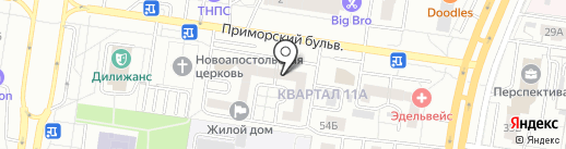 Haulmont на карте Тольятти