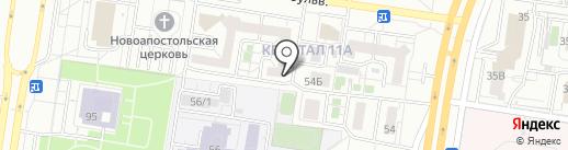 Страховой эксперт на карте Тольятти