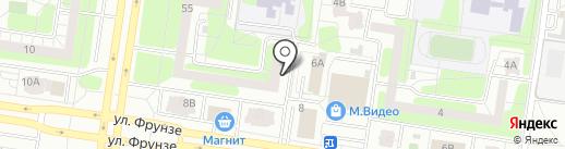 Юридическая служба примирения, АНО на карте Тольятти