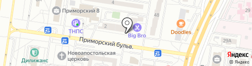 Фабрика сыра на карте Тольятти
