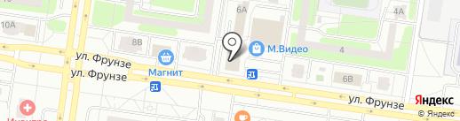 Институт оценки и управления на карте Тольятти