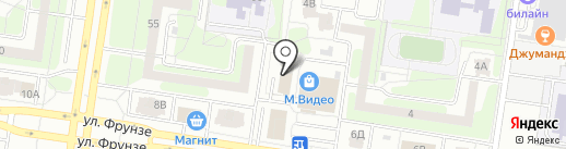 ВАЗСИСТЕМ на карте Тольятти