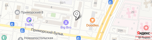 Маршала Жукова 48, ТСЖ на карте Тольятти