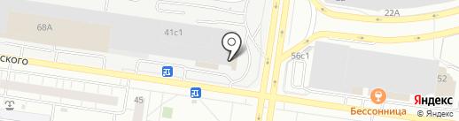 Волжск-Агро-Строй на карте Тольятти