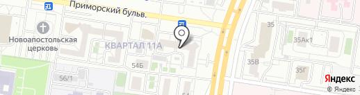 Антимульт на карте Тольятти