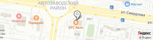 KFC на карте Тольятти