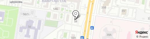 Мелитель на карте Тольятти