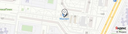 Киоск по продаже лотерейных билетов на карте Тольятти