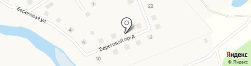 Лазурный на карте Стрижей
