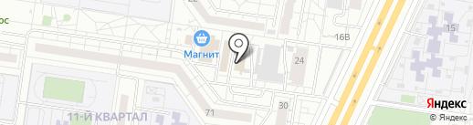 ПСТ на карте Тольятти