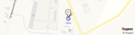 АЗС Ойл на карте Выселков