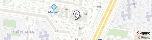 Велес на карте Тольятти