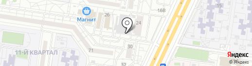 Авточистюля на карте Тольятти