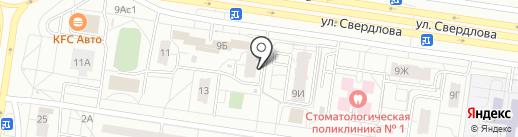 Иоланта на карте Тольятти