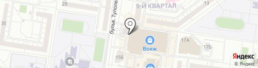 О`Бар на карте Тольятти