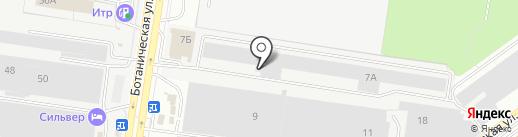 Деталь на карте Тольятти